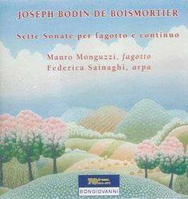 Joseph Bodin de Boismortier: Sette Sonate per fagott e continuo (Bongiovanni)