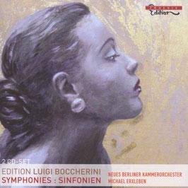 Luigi Boccherini: Edition Luigi Boccherini, Symphonies, Sinfonien (2CD, Phoenix)