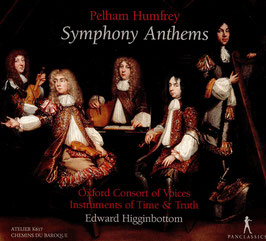 Pelham Humfrey: Symphony Anthems (Pan Classics)