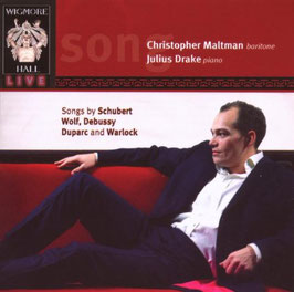 Songs by Schubert, Wolf, Debussy, Duparc and Warlock (Wigmore Hall)