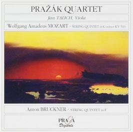 Wolfgang Amadeus Mozart: String Quintet in G minor KV 516, Anton Bruckner: String Quintet in F (Praga)