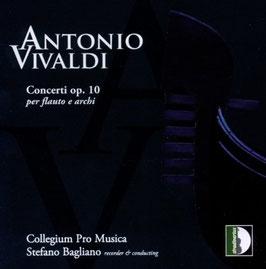 Antonio Vivaldi: Concerti per flauto e archi op. 10 (Stradivarius)