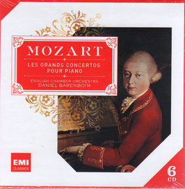 Wolfgang Amadeus Mozart: Les grands concertos pour piano (6CD, EMI)