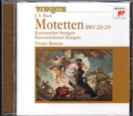 Johann Sebastian Bach: Motetten (Sony Vivarte)