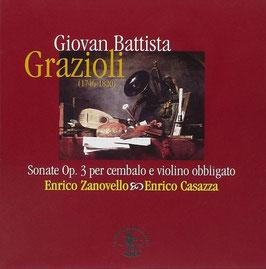 Giovan Battista Grazioli: Sonate Op. 3 per cembalo e violino obbligato (La Bottega Discantica)