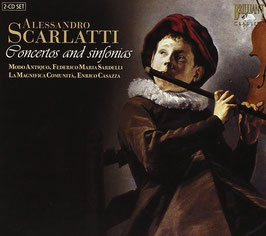 Alessandro Scarlatti: Concertos and sinfonias (2CD, Brilliant)