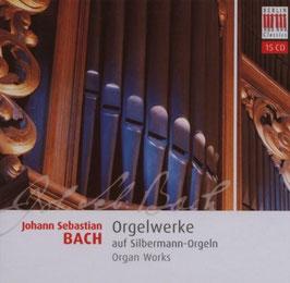 Johann Sebastian Bach: Orgelwerke auf Silbermann-Orgeln (15CD, Berlin)