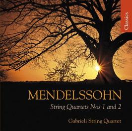 Felix Mendelssohn-Bartholdy: String Quartets Nos 1 and 2 (Chandos)