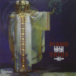 Bedrich Smetana, Bohuslav Martinu, Petr Eben: Piano Trios (Hyperion)