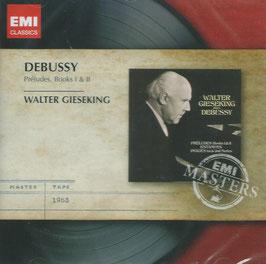 Claude Debussy: Préludes, Books I & II (EMI)