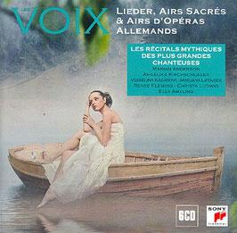 Voix: Lieder, Airs Sacrés & Airs d'Opéras Allemands (6CD, Sony)