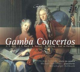 Gamba Concertos: Carl Friedrich Abel, Johann Christian Bach, Anton Milling, Anton Raetzel, Johann Carl Graf zu Hardeck (Coviello Classics)