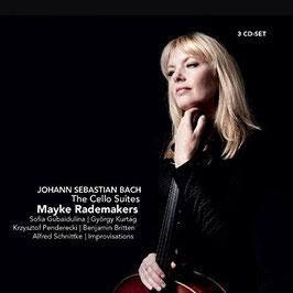 Johann Sebastian Bach: The Cello Suites (+Gubaidulina, Kurtág, Penderecki, Britten, Schnittke +Improvisations) (3CD, Challenge Classics)