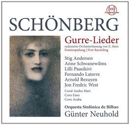 Arnold Schönberg: Gurre-Lieder, reduzierte Orchesterfassung von E. Stein (2CD, Thorofon)