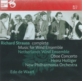 Richard Strauss: Complete Music for Wind Ensemble, Oboe Concerto (2CD, Newton)