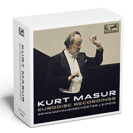 Kurt Masur: Eurodisc Recordings (16CD, Eurodisc)