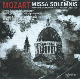 Wolfgang Amadeus Mozart: Missa Solemnis, Vesperae de Dominica K321, Regina Caeli K108 (Hyperion)