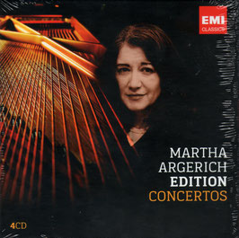 Argerich Edition: Concertos (4CD, EMI)