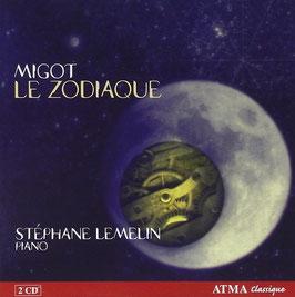 Georges Migot: Le Zodiaque (2CD, Atma)