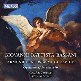 Giovanni Battista Bassani: Armonici Entusiasmi di Davide, opera nona, Venezia 1690 (2CD, Tactus)