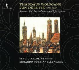 Thaddäus Wolfgang von Dürnitz: Sonatas for classical bassoon & fortepiano (Pan Classics)