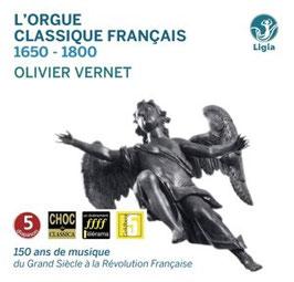 L'Orgue Classique Français 1650-1800 (10CD, Ligia Digital)