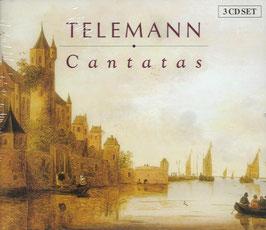 Georg Philipp Telemann: Cantatas (3CD, Brilliant)