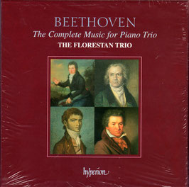 Ludwig van Beethoven: The Complete Music for Piano Trio (4CD, Hyperion)