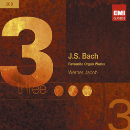 Johann Sebastian Bach: Favourite Organ Works (3CD, EMI)