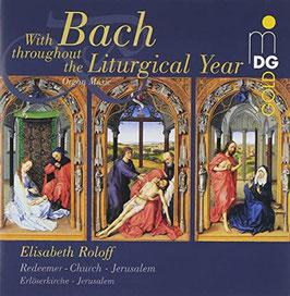 Johann Sebastian Bach: With Bach throughout the Liturgical Year (2CD, MDG)