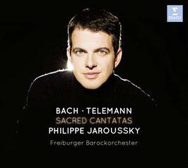 Johann Sebastian Bach, Georg Philipp Telemann: Sacred Cantatas (CD + DVD, Erato)