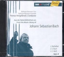 Johann Sebastian Bach: Aus der Notenbiblothek von Johann Sebastian Bach, Vol. II (Hänssler)