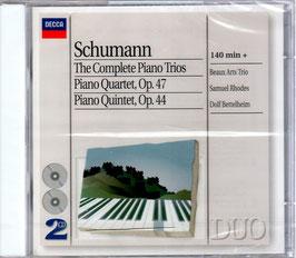 Robert Schumann: The Complete Piano Trios, Piano Quartet Op. 47, Piano Quintet Op. 44 (2CD, Decca)