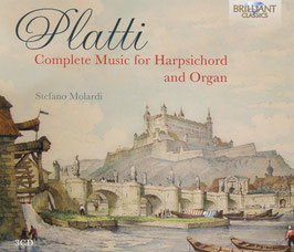 Giovanni Benedetto Platti: Complete Music for Harpsichord and Organ (3CD, Brilliant)