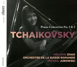 Pyotr Ilyich Tchaikovksy: Piano Concertos No. 1 & 2 (Claves)