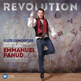 Revolution: Flute Concertos by Devienne, Gianella, Gluck, Pleyel (Warner)