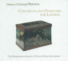 Johann Christoph Pepusch: Concertos and Overtures for London (Ramée)