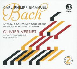 Carl Philipp Emanuel Bach: Intégrale de l'oeuvre pour orgue (2CD, Ligia Digital)