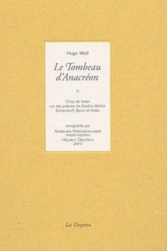 Joseph Wolf: Le Tombeau d'Anacréon (CD, Boek, La Dogana)