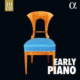 Early Piano: Carl Philipp Emanuel Bach, Joseph Haydn, Ludwig van Beethoven, Pierre-Jean de Béranger, Franz Schubert, Robert Schumann, Franz Liszt (10CD, Alpha Outhere)
