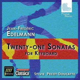 Jean-Frédéric Edelmann: Twenty-One Sonatas for Keyboard (3CD, Phaia Music)