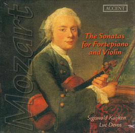 Wolfgang Amadeus Mozart: The Sonatas for Fortepiano and Violin (5CD, Accent)
