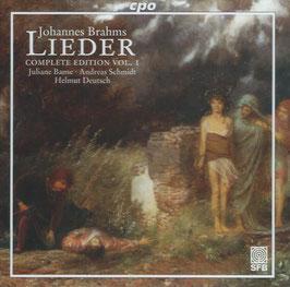 Johannes Brahms: Lieder, Complete Edition Vol. 1 (CPO)