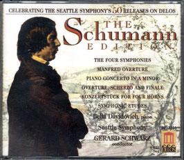Robert Schumann: The Schumann Edition (4CD, Delos)