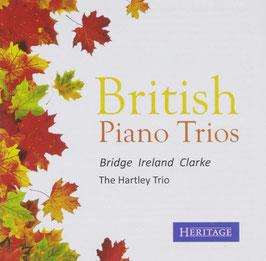 British Piano Trios: Bridge, Ireland, Clarke (Heritage)