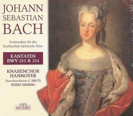 Johann Sebastian Bach: Kantaten BWV 213 & 214 (Ars Musici)