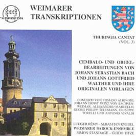 Weimarer Transkriptionen: Bach, Walther, Torelli, Vivaldi, Marcello (2CD, Thorofon)