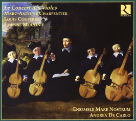 Le Concert des Violes: Charpentier, Couperin, Moulinié (Ricercar)