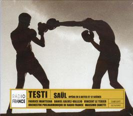 Flavio Testi: Saül (2CD, Naïve)