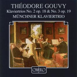 Théodore Gouvy: Klaviertrios No. 2 op. 18 & No. 3 op. 19 (Orfeo)